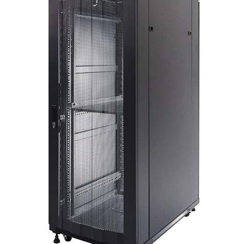 Standing Close Rack 19″ – Perforated Door  	IR9032P