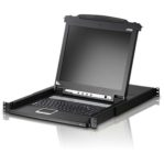 CL5716M 18M AT 17 Inch 16 Port LCD KVM W EXTRA Local Console
