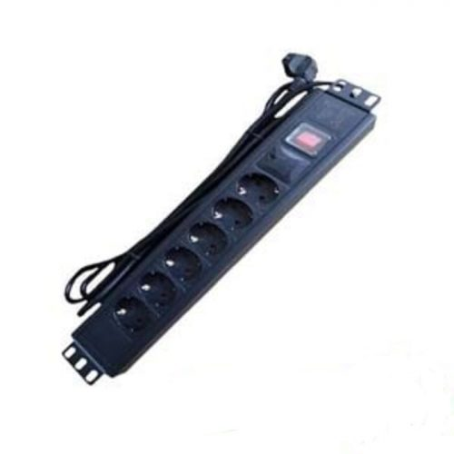 Accessories Rack Series Power Distribution 7 Outlet With Switch HRA-PDU7