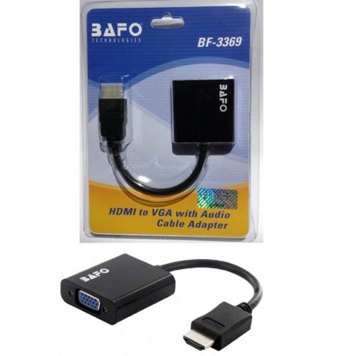 Converter HDMI Merk BAFO 3369 With Audio