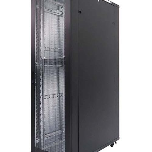 Standing Close Rack 19″ – Perforated Door