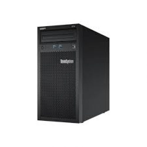 Lenovo ThinkSystem Server Tower ST50  Proc Xeon E-2104G 4+2C 65W 3.2GHz Processor, Memory 8GB, HDD 1TB sata, NO OS, NO Mouse