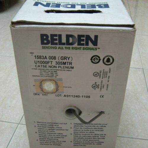 Cable Belden UTP Cat5e 305M