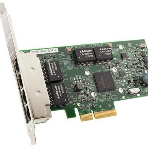 ThinkSystem Broadcom NetXtreme PCIe 1Gb 4-Port RJ45 Ethernet Adapter 7ZT7A00484