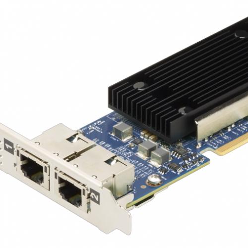 ThinkSystem Broadcom NX-E PCIe 10Gb 2-Port Base-T Ethernet Adapter Pn 7ZT7A00496