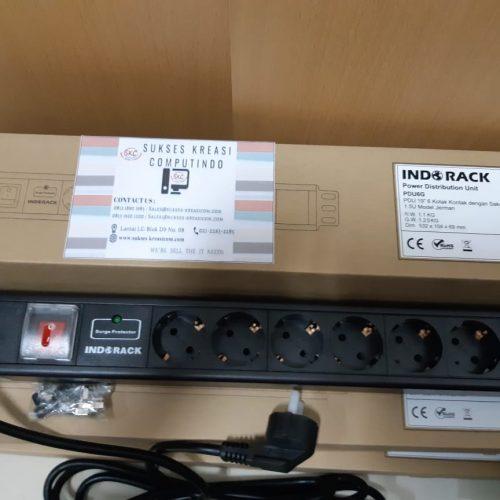 Indorack Accessories Power Distribution Unit 6 Outlet PDU6G