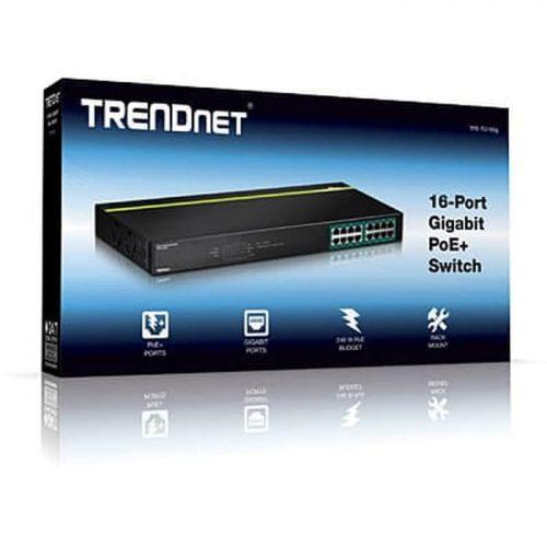 TPE-TG160G 16-Port Gigabit PoE+ Switch