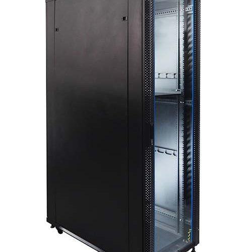 Standing Close Rack 19″ Glass Door IR11542G