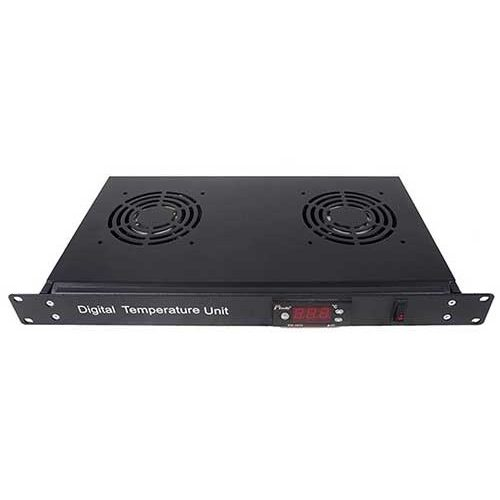 Accessories Rack 19″ For Indorack Digital Temperature Unit 2 Fan – DTU02