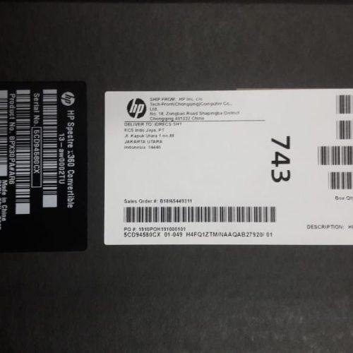 HP Spectre x360 Conv13-aw0002TU 16GB/1TB SSD