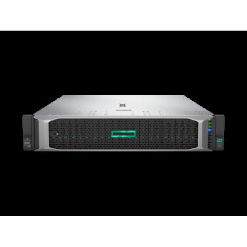 HPE ProLiant DL380 Gen10 4110 – 8SFF Intel Xeon-Silver 4110 (2.1 Ghz/8-Core/85W), 16 GB RDIMM 2R 2666 MT/s, HPE 1GB