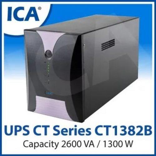 UPS ICA CT Series Model; CT1382B 2600VA 48V (Compact Type)