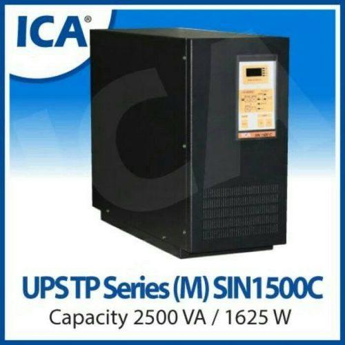 UPS ICA TP Series Model; SIN 1500C 2500VA 120V (Tower Type)