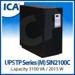UPS ICA TP Series Model; SIN 2100C 3100VA 120V (Tower Type)