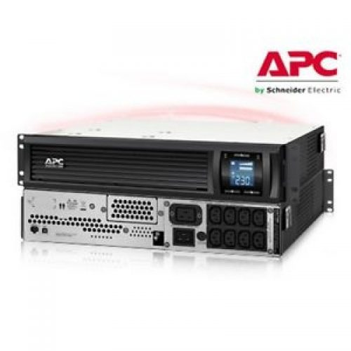 APC SMC3000RMI2U 2100 Watts 3000 VA Input 230V Output 230V Interface Port USB Rack Height 2 URBC150 Incl Rack Mounting brackets
