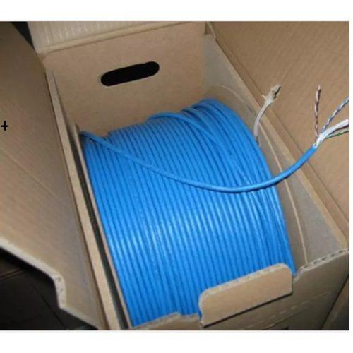 Kabel LAN AMP Commscope Blue Cat6 LAN UTP Cat6 Original Biru