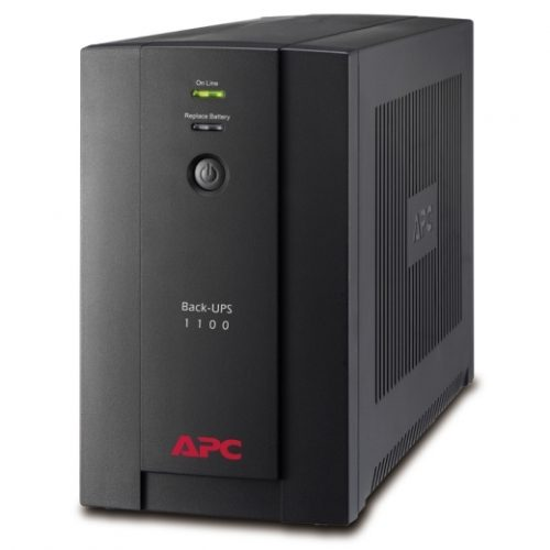 APC Back UPS 550 Watts 1100VA BX1100LIMS Input 230V Output 230 RBC 17 12v9A