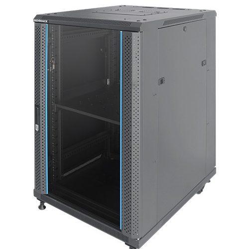 INDORACK IR8027G 27U Depth 800mm (Glass Door)