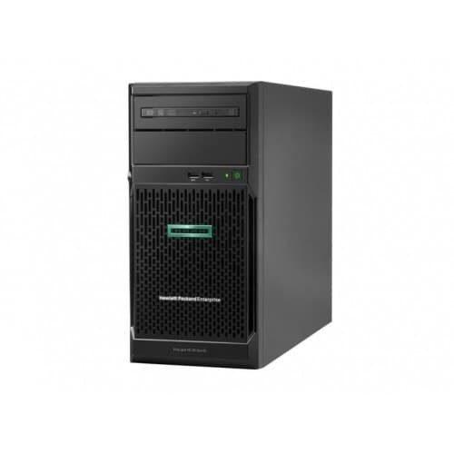 Server HPE ProLiant ML30 G10 E-2224 – 4 CORE 3.4 GHz, 16GB, 1TB SATA, DVD-RW, KM