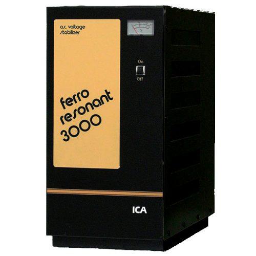 Stabilizer ICA FR Series Model: FR3000 3000VA (Ferro Resonant)