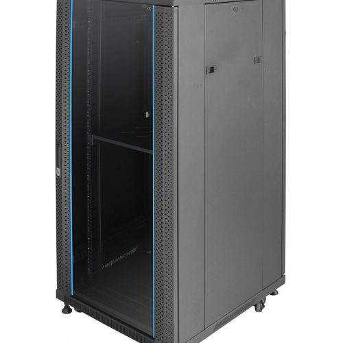 INDORACK IR6027G 27U 600mm (Glass Door)